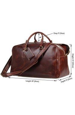 Кожаная дорожная сумка Vintage 14359