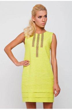 Платье 173-c01 - Желтый