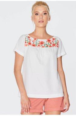 Блуза 966-c01 - Молочный