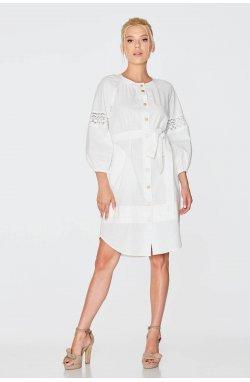 Платье 973-c01 - Молочный