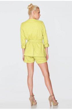 Жакет 969-PW03 - Желтый