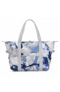 Женская сумка Kipling ART M Tie Dye Blue (48Y) KI6004_48Y