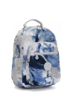 Рюкзак для ноутбука Kipling SEOUL S Tie Dye Blue (48Y) KI5611_48Y