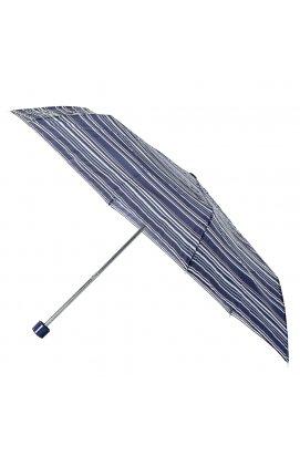 Зонт женский Incognito-4 L412 Navy Stripe (Синие полосы)