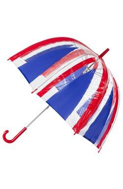 Зонт-трость женский Incognito-30 PVC Dome L736 Union Jack (Флаг)