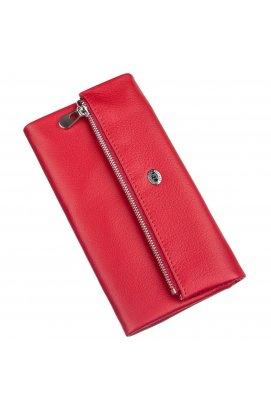 Жіночий шкіряний гаманець ST Leather 20091 Червоний