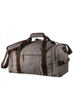 Дорожная сумка текстильная с карманом Vintage 20191