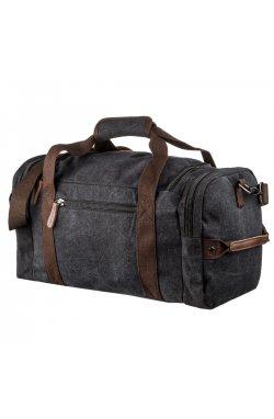 Дорожная сумка текстильная с карманом Vintage 20192