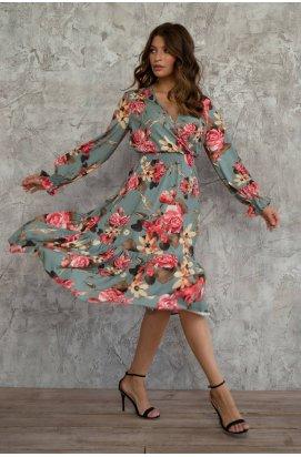 Платье 3000-c01 - Полынь