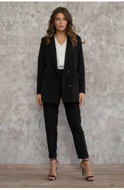 Пиджак 3003-PW01 - Чорный