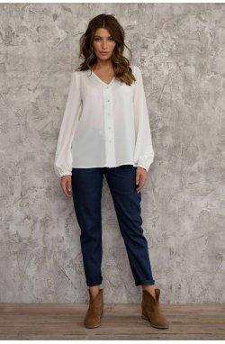 Блуза 3007-c01 - Молочный