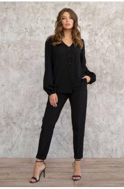 Блуза 3007-c02 - Черный