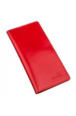 Вертикальное портмоне SHVIGEL 13990 Красное