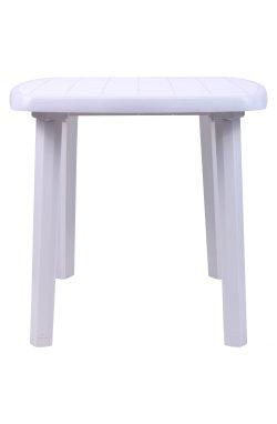 Стол Sorrento 140x80 пластик белый 01 - AMF - 200015