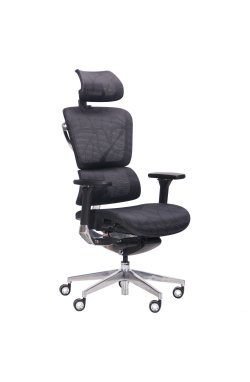 Кресло Crystal Alum, Black mesh - AMF - 545811