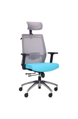 Кресло Install Black Alum Grey/ Light Blue - AMF - 544878