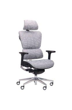 Кресло Crystal Alum, Grey mesh - AMF - 545812