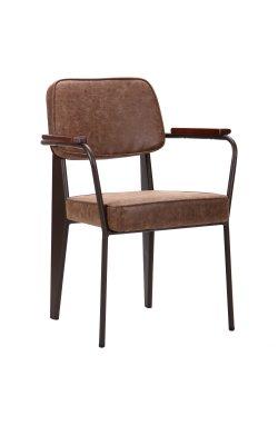 Кресло Lennon кофе / лунго - AMF - 521910
