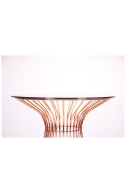 Стол Maleo, rose gold, glass top - AMF - 545683