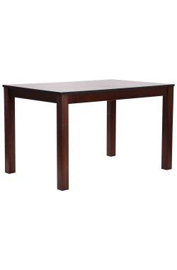 Стол обеденный раздвижной Эштон орех темный/черный мрамор - AMF - 546275