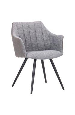 Кресло Florida черный/меланж грей/нубук грей - AMF - 545792