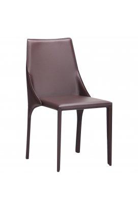 Стул Artisan dark brown leather - AMF - 545651