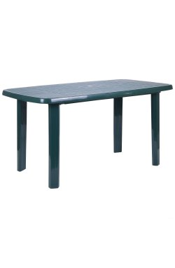 Стол Sorrento 140x80 пластик зеленый 15 - AMF - 200017