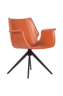 Кресло Vert caramel leather - AMF - 545655