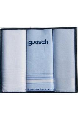 Мужские хлопковые носовые платки Guasch Sena 90-06