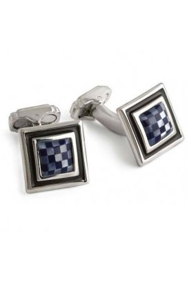 Запонки Thompson of London MOSAIC SQUARE & ROUND Th7409cl