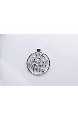 Серебряный кулон дерево жизни из родированного серебра 925-й пробы (31 05 )