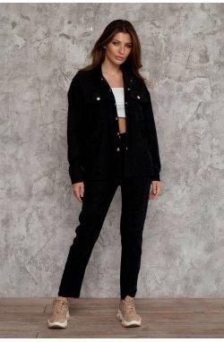 Рубашка 3020-PW02 - Черный