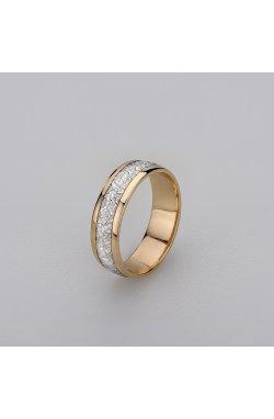 Обручальное кольцо из розового золота из красного золота 585-й пробы (112 73)
