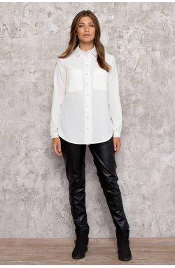 Рубашка 3026-PW01 - Молочный