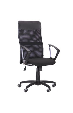 Кресло Ultra сиденье А-1/спинка Сетка черная, вставка Скаден черный - AMF - 210037