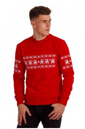 Різдвяний чоловічий світшоти з оленями