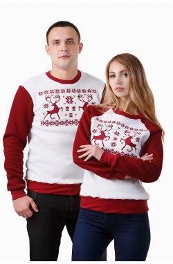 Рождественские свитера для пары