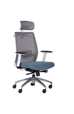 Кресло Install White, Alum, Grey/Skyline - AMF - 546628