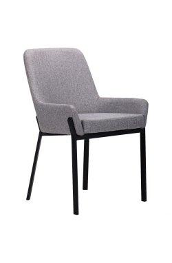 Кресло Charlotte черный/серый - AMF - 545800