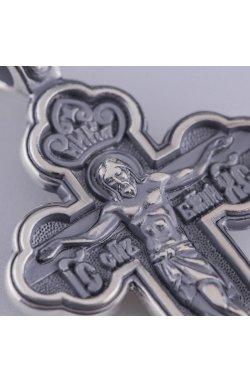Крест иисус христос серебро из родированного серебра 925-й пробы (312 5 )