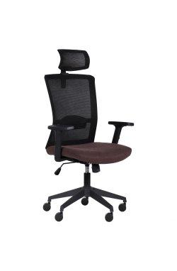 Кресло Uran Black HR сиденье Сидней-26/спинка Сетка SL-00 черная - AMF - 297322