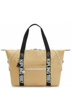 Женская сумка Kipling NEW CLASSICS / Beige Black KI2522_85V