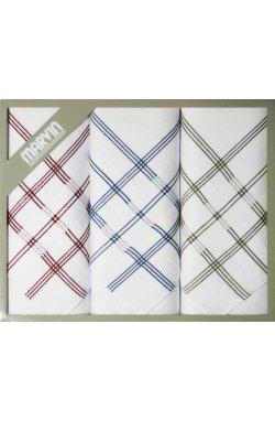 Мужские хлопковые носовые платки MARVIN Mink 92-10