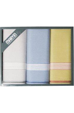 Мужские хлопковые носовые платки MARVIN Eros 95-01