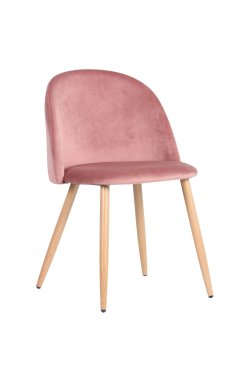 Стул обеденный Sherry beech/pink velvet - AMF - 545871