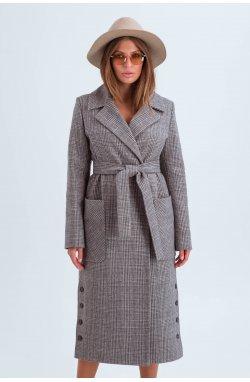 Пальто женское Асти коричневый