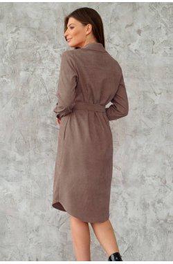 Сукня-PWорочка 3027-c08 - Мокко
