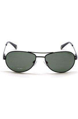 Солнцезащитные очки женские Polaroid PLD2100/S/X-003-UC - авиаторы, Цвет линз - зеленый