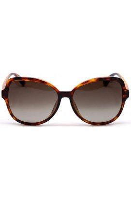 Солнцезащитные очки женские Polaroid PLD4088/F/S-086-LA - квадратные, Цвет линз - коричневый