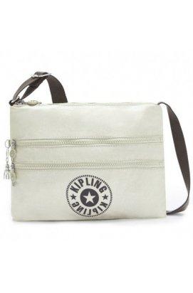 Женская сумка Kipling ALVAR Dynamic Silver (G32) K12472_G32